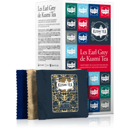 "LES EARL GREY ""kusmi tea"""